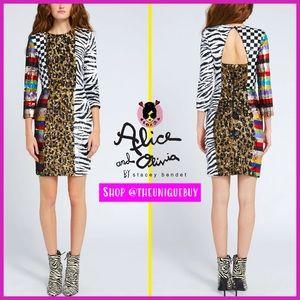 🏷 🆕 Alice + Olivia Multicolored Sequin Dress